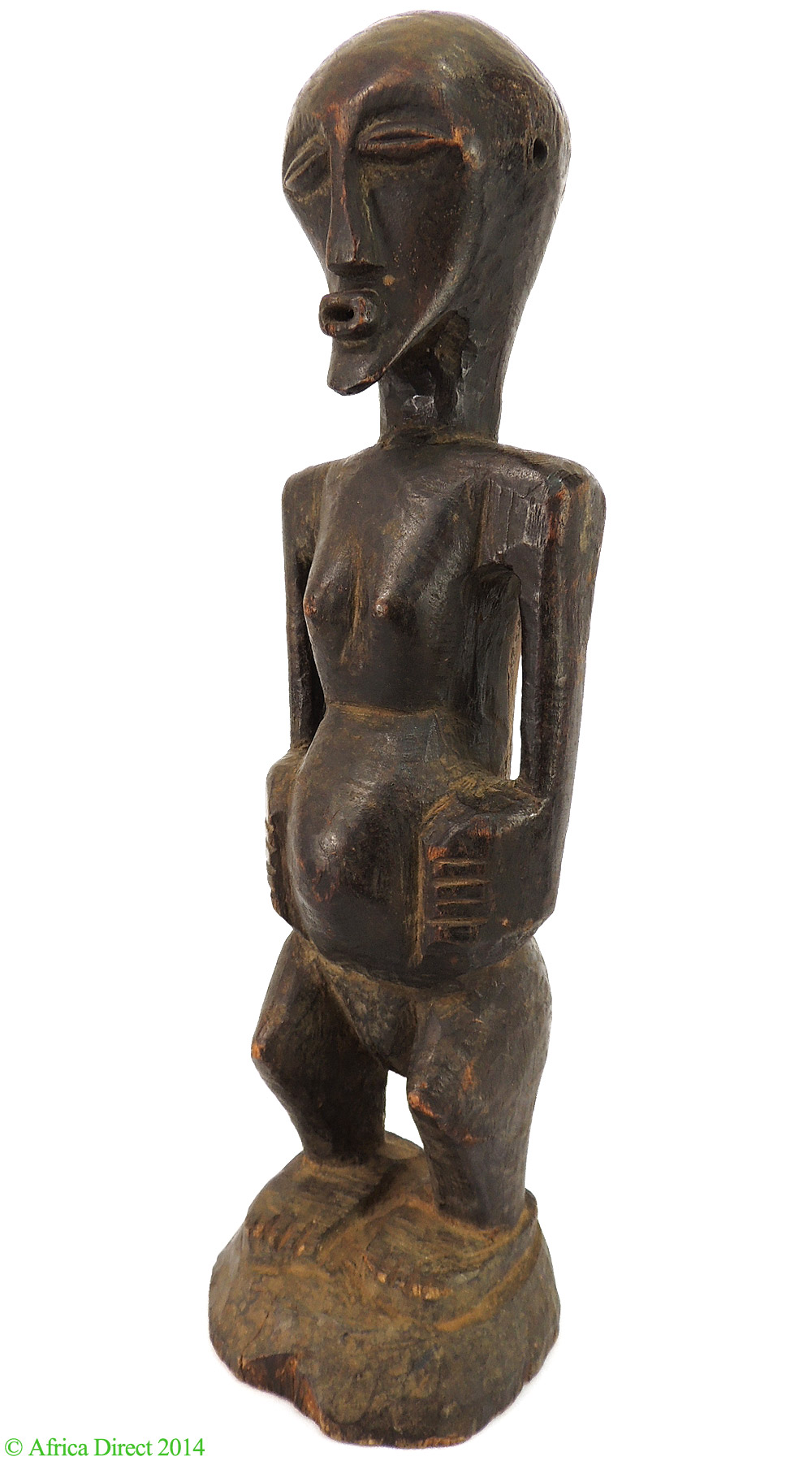 Songye female power figure nkishi congo african art