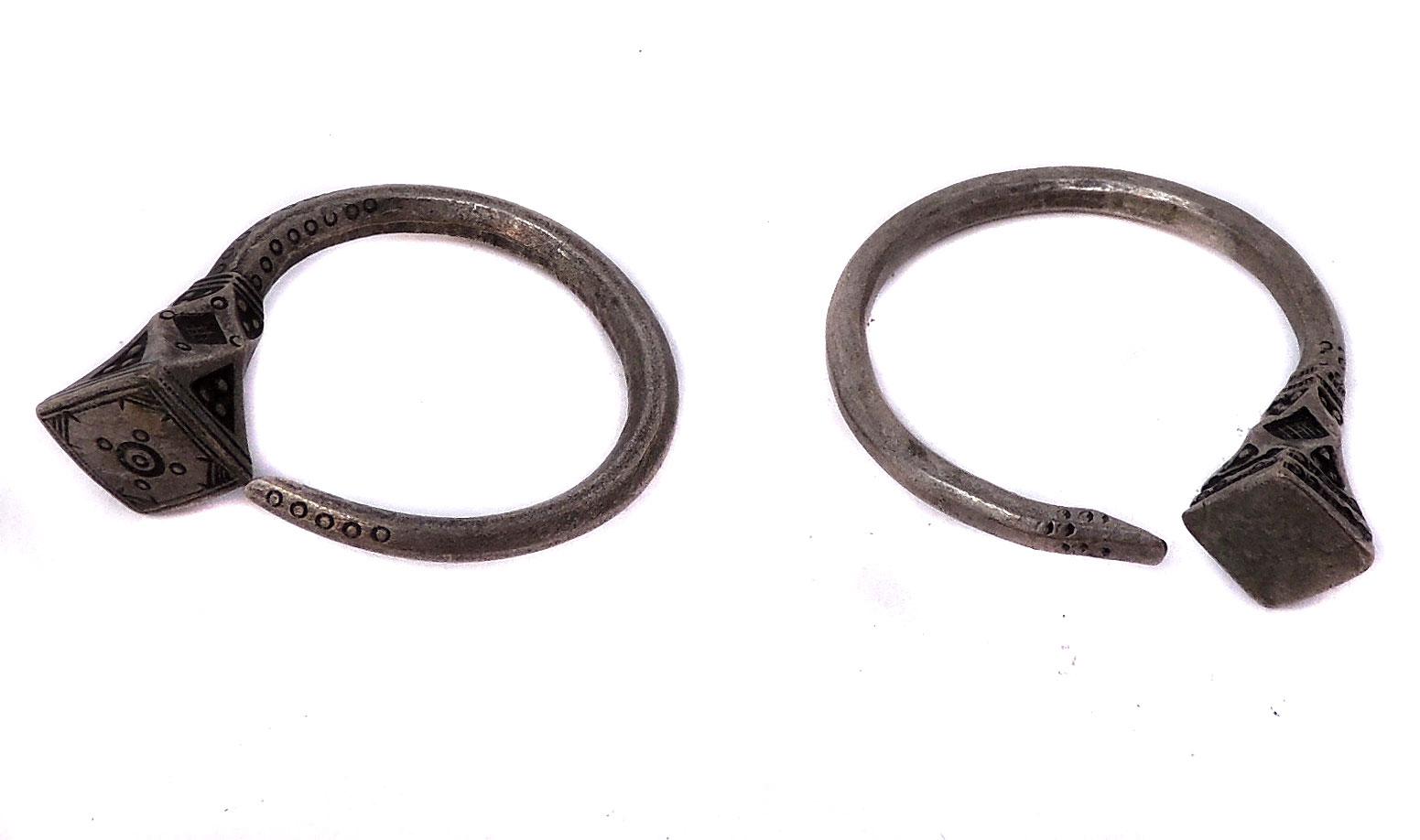 8863dc744 Tuareg Silver Hoop Earrings Mali African - Tuareg - Ethnic Jewelry
