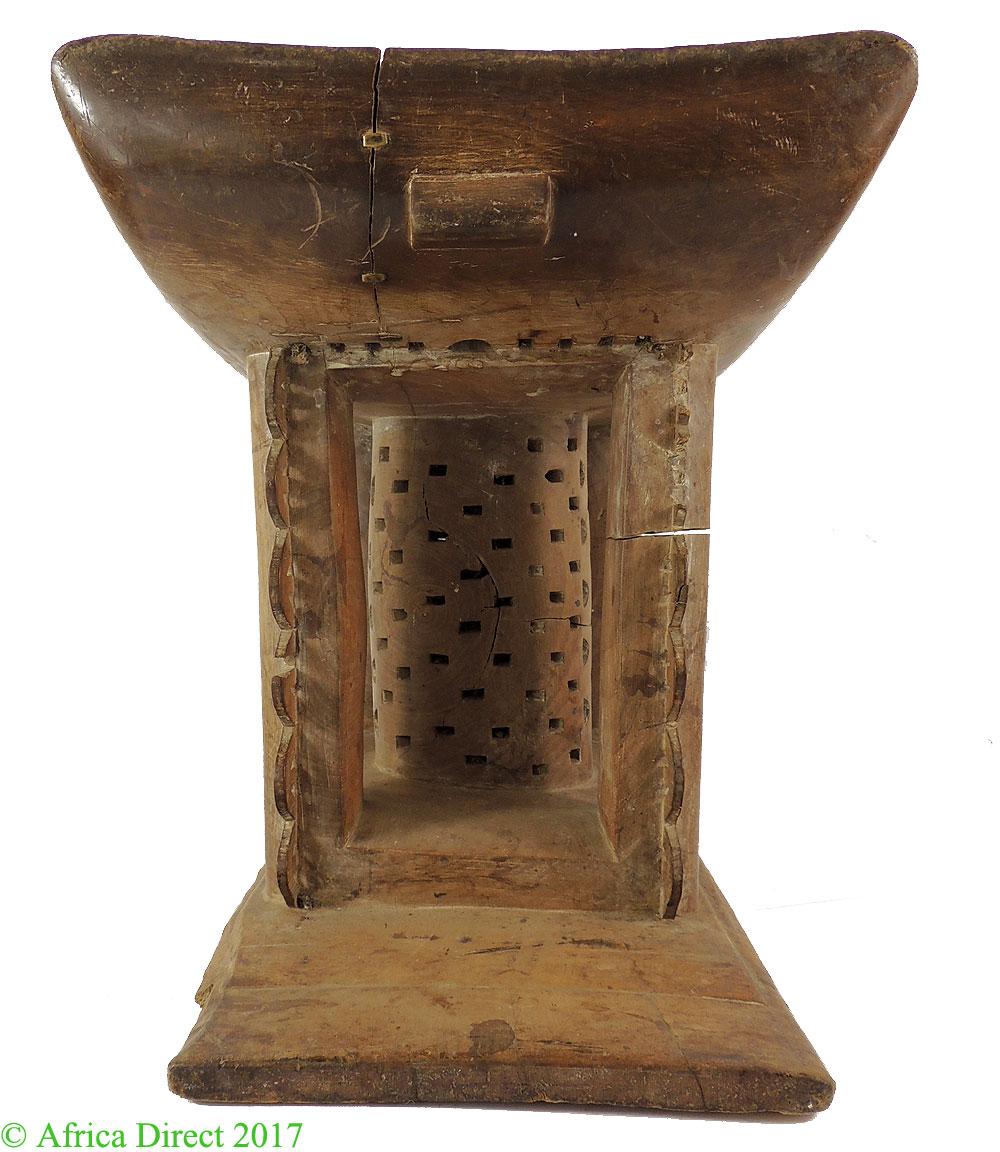 Asante Stool Royal Throne Dwa Geometric Ghana African Art 20 Inch - Stools Chairs and Thrones - African Artifacts  sc 1 st  Africa Direct & Asante Stool Royal Throne Dwa Geometric Ghana African Art 20 Inch ... islam-shia.org